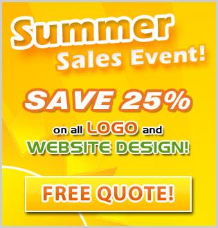 toronto logo and website design specials